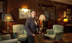 Anja Frankenbach, gerenta general de The Ritz-Carlton, Santiago