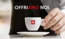 Illycafffé ofrece un café a Italia