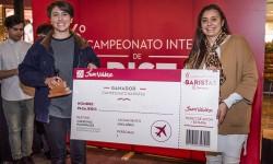 Josephine Pereira, ganadora del 6to campeonato interno de Juan Valdez Café