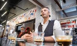 Damian Burguess Master Class Caffe Vergnano