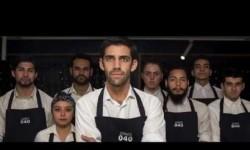 Esperanzador mensaje restaurante 040 en Santiago