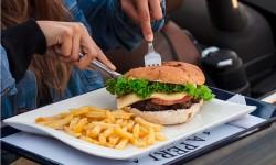 Servicio de comida al auto