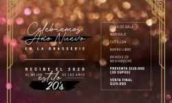 Año Nuevo en La Brasserie