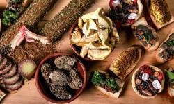 Productos silvestres para la cocina profesional