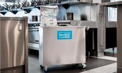 La solución para la limpieza en las cocinas: sistema desincrustante de carbón, desengrasante y blanqueado