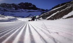 Apertura en la zona central para disfrutar de lo mejor de la nieve